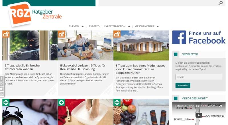 Website Ratgeberzentrale