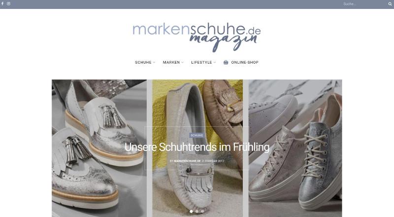 Markenschuhe.de Magazin Startseite